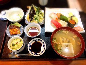 にぎり寿司定食